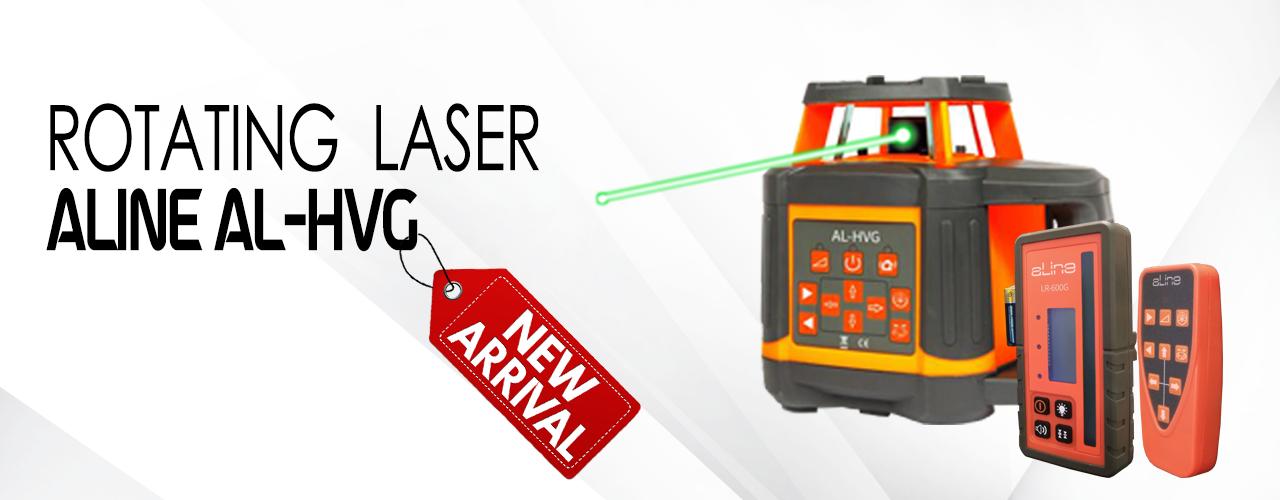 rotating laser Al-HVG