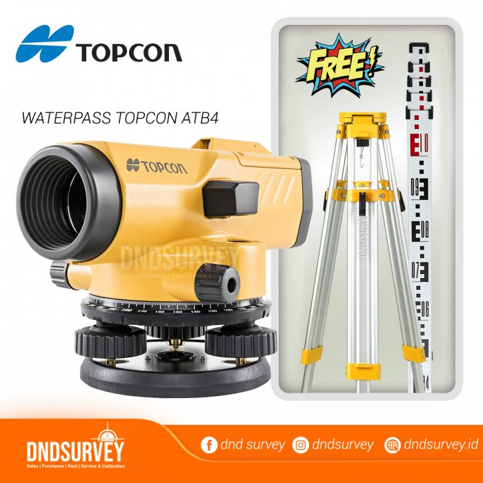 WATERPASS-TOPCON-ATB4