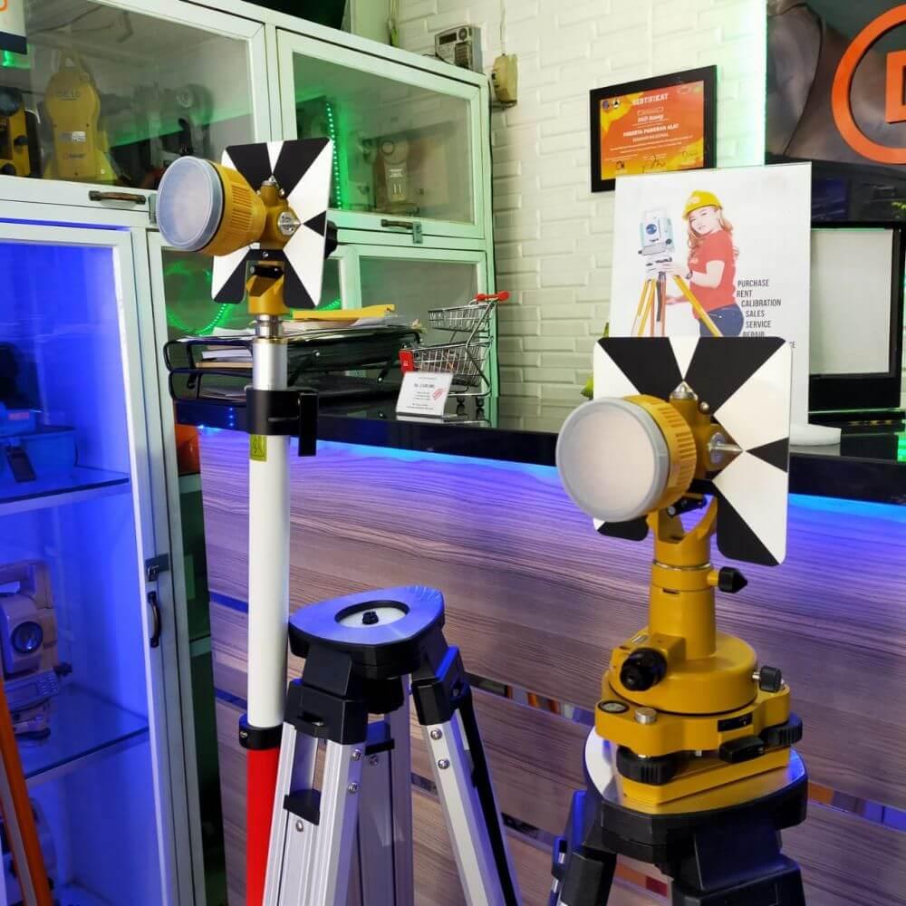 Total Station Geo Fennel FTS 102 Second Original Garansi