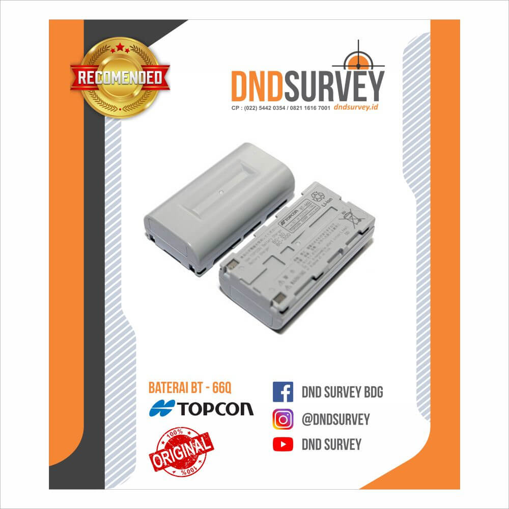 Battery Topcon BT66Q