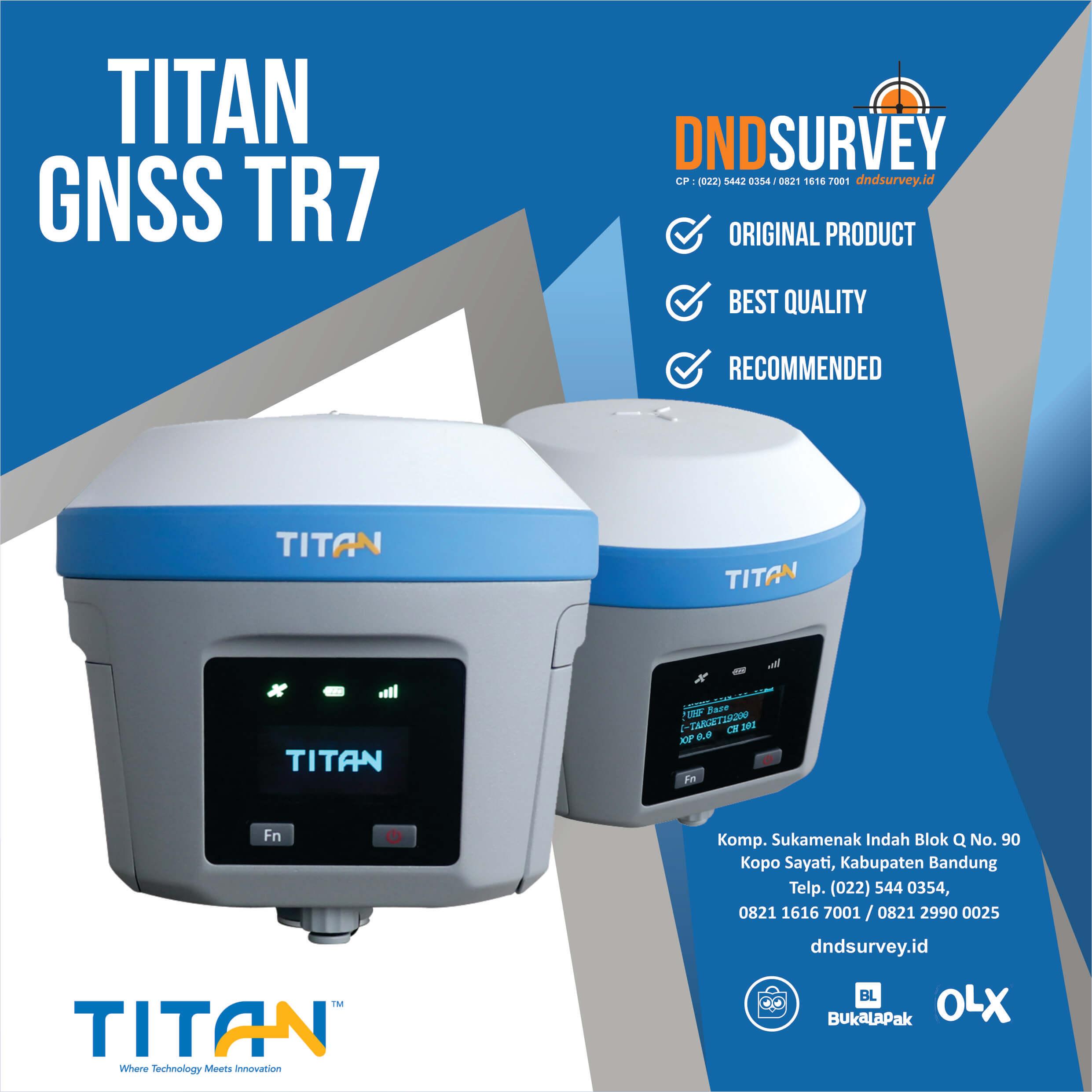 GNSS TITAN TR7 Base Rover
