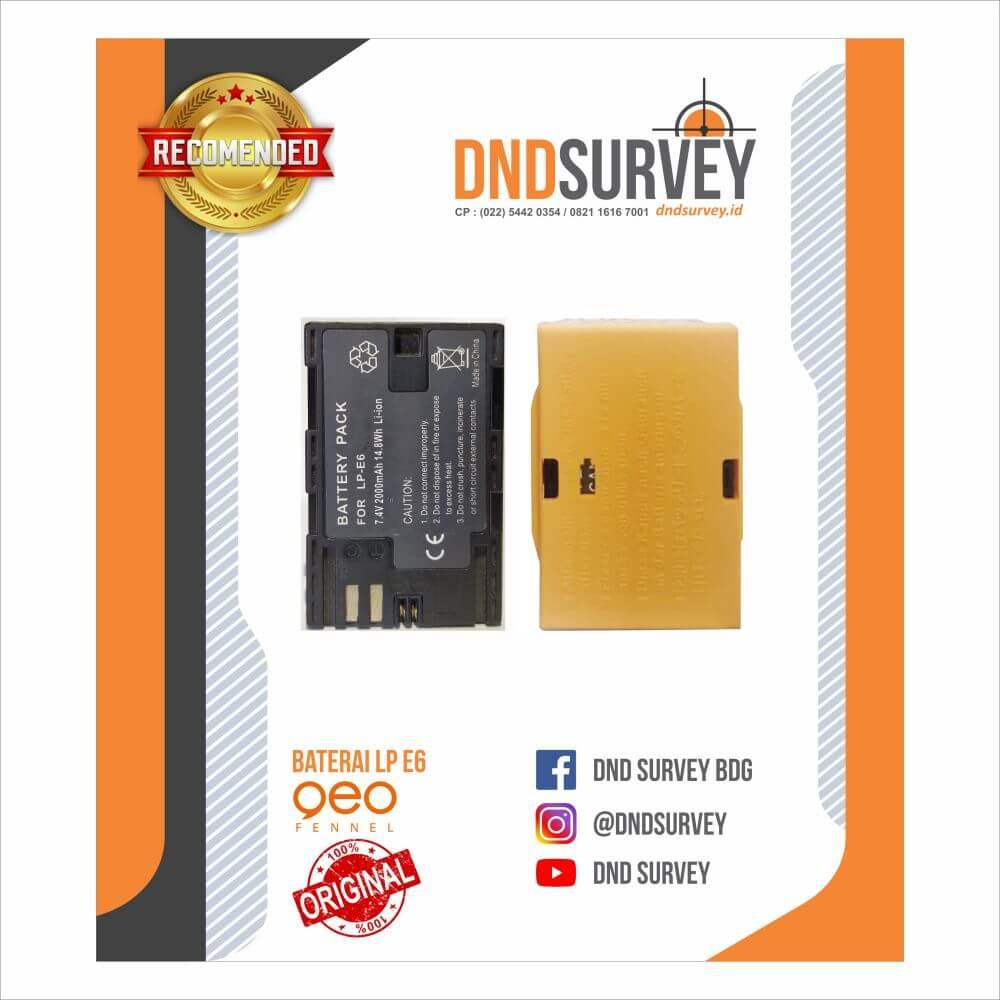 Battery Geofennel GPS LP E6