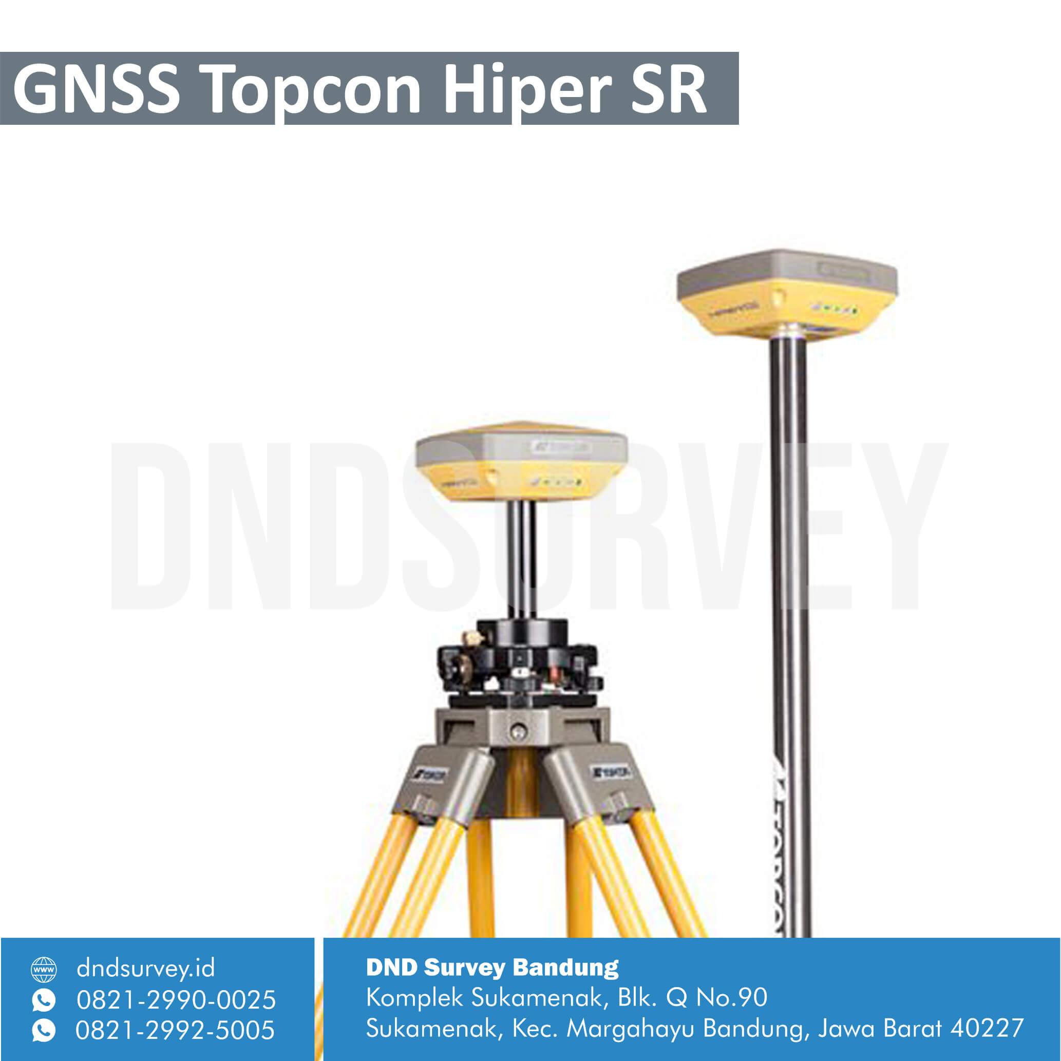 GNSS Topcon Hiper SR