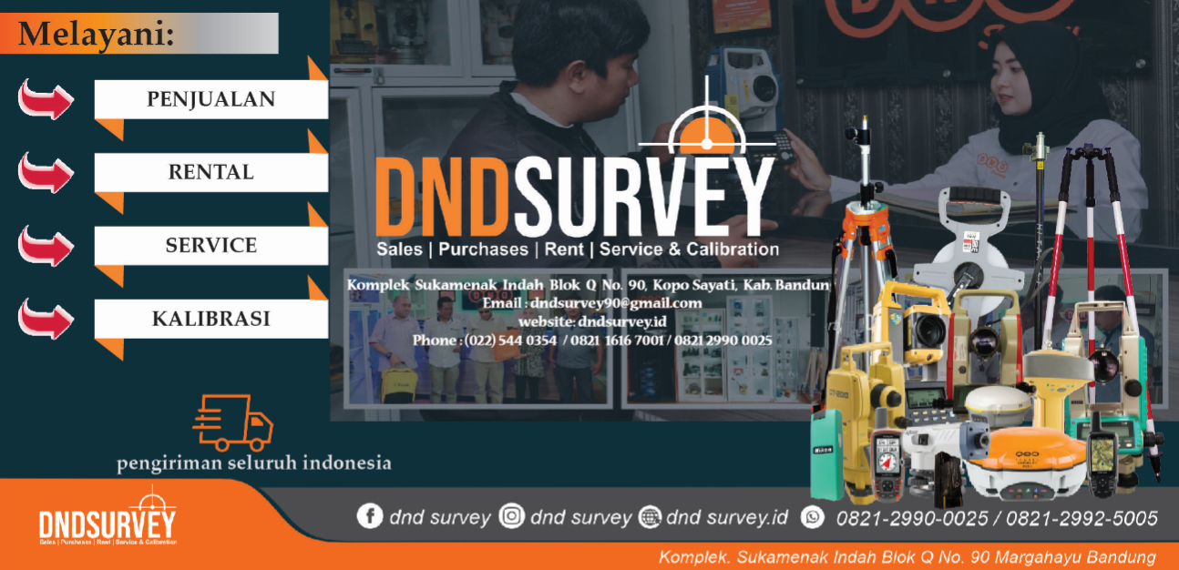 dnd survey promo gps rtk total station theodolite